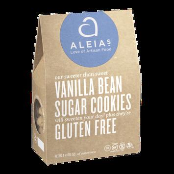 Aleia's Vanilla Bean Sugar Cookies Gluten Free