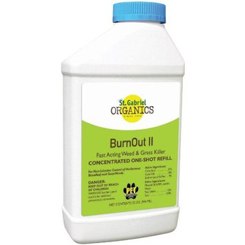 St Gabriel Organics Burnout II Weed & Grass Killer Refill - 32 Ounce Bottle - Part #: 40015-3