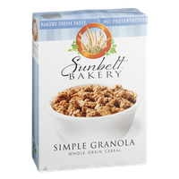 Sunbelt Bakery Cereal Simple Granola Whole Grain