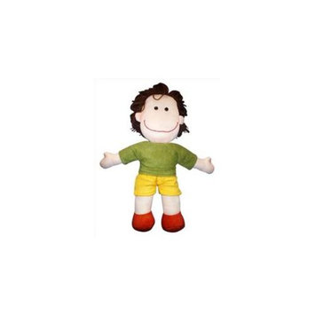 Anatina Toys Alvin Plush Doll - Handmade and Eco-Friendly