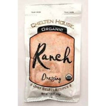 Chelten House Organic Ranch Dressing, 1.5-Ounce Single Serve Pouches (Pack of 60)