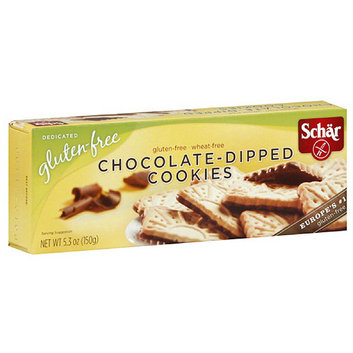 Schar Chocolate Dipped Cookies