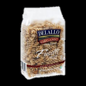 Delallo 100% Organic Fusilli Whole Wheat Pasta