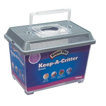 Super Pet Keep-A-Critter Small Pet Home or Carrier