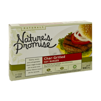 Nature's Promise Naturals Char-Grilled Soy Burgers