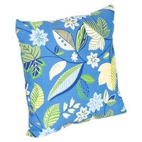 Jordan 2-Piece Outdoor Toss Pillow Set - Blue/Green Floral 14