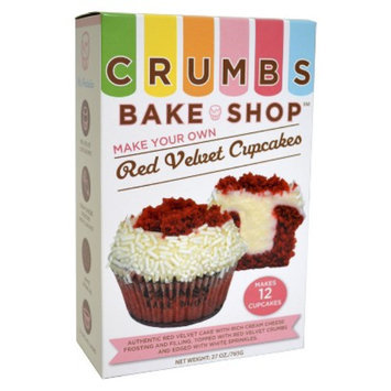 Pelican Bay Crumbs Bake Shop Make Your Own Red Velvet Cupcakes 27 oz