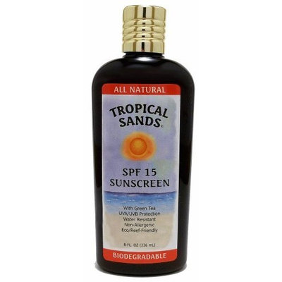 Tropical Sands All Natural SPF 15 Biodegradable Sunscreen