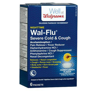 Walgreens Wal-Flu Severe Cold & Cough Packets