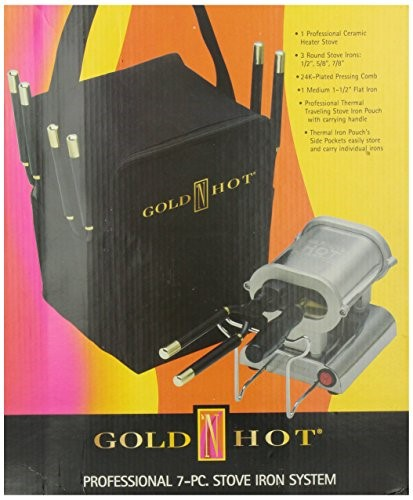 Gold 'N Hot Professional 7-Piece Stove Iron Set