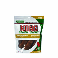 KONG Premium Treats Dental Chews Calcium, Medium/Large