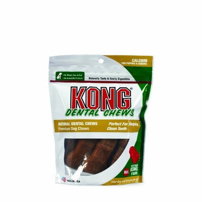 KONG Premium Treats Dental Chews Calcium, Medium/Large
