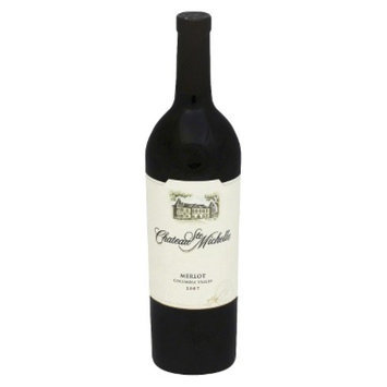 St Michelle Chateau Ste Michelle Columbia Valley 2007 Merlot Wine 750 ml