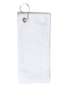 Pds Online Simplicity 100% Cotton Perfect Sports Golf Towel with Grommet and Hook