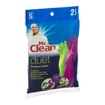 Mr. Clean Duet Premium Latex Gloves