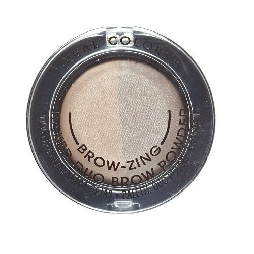 Real Colors Brow-zing Baked Duo Brow Powder Golden Blonde