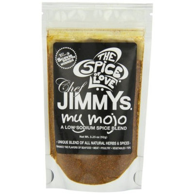 Chef Jimmy's My Mojo, Low Sodium Spice Blend, 3.25 Ounce Pouches