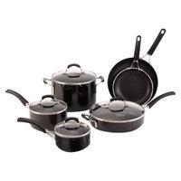 Calphalon Kitchen Essentials From  10 piece Black Nonstick Cookware Set