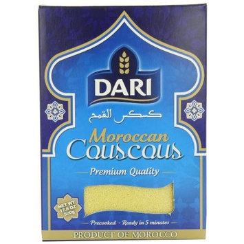 Dari Moroccan Couscous, 500-Gram Boxes (Pack of 6)