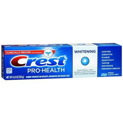 Crest Pro-Health Whitening Fluoride Anticavity Toothpaste