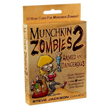 Munchkin MUNCHKIN Zombies 2 Armed and Dangerous Steve Jackson Game