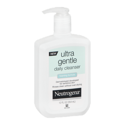 Neutrogena Ultra Gentle Daily Cleanser Foaming Formula