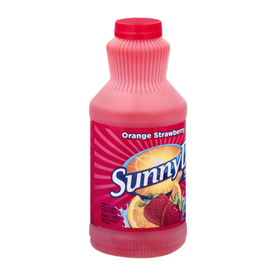 Sunny D Citrus Punch Orange Strawberry