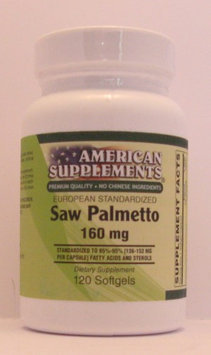 Saw Palmetto Berry Extract 160 MG No Chinese Ingredients American Supplements 1