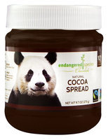 Endangered Species Chocolate Natural Cocoa Spread 9.7 oz - Vegan