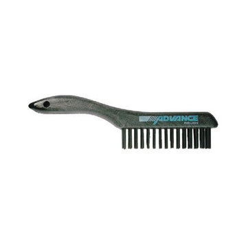 Advance Brush Shoe Handle Scratch Brushes - 4x16 shoe handle scratchbrush cs wire