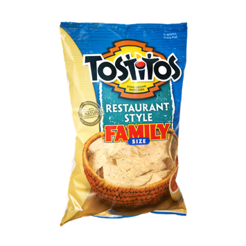 Tostitos®  Restaurant Style Family Size White Corn Chips