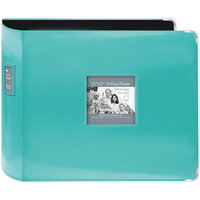 Pioneer Sewn Leatherette 3 Ring Binder - Green (12