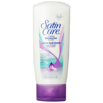 Gillette Satin Care Dry Skin In-Shower Moisturizer 8.4 Oz (Pack of 6)