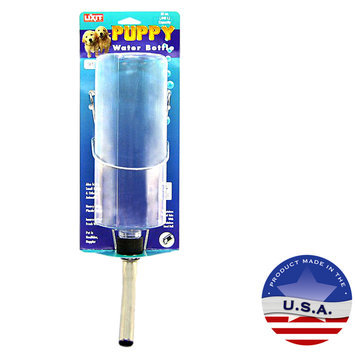 Lixit Plastic Puppy Water Bottle with Tube: 32 oz