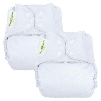 bumGenius 4.0 One-Size Diaper - Snap Closure - (2 Pk) - White