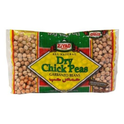 Wild Garden Dry Chick Peas, 16-Ounce Unit (Pack of 6)