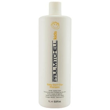 Paul Mitchell Baby Don't Cry Shampoo Gentle Tearless Cleanser 33.8 oz
