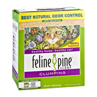 Feline Pine Scoop Clumping Cat Litter