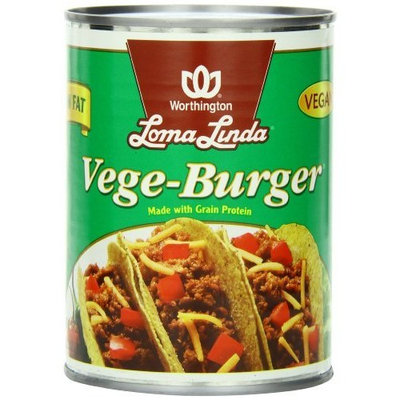 Loma Linda Vege-Burger, 19-Ounce Cans (Pack of 12)