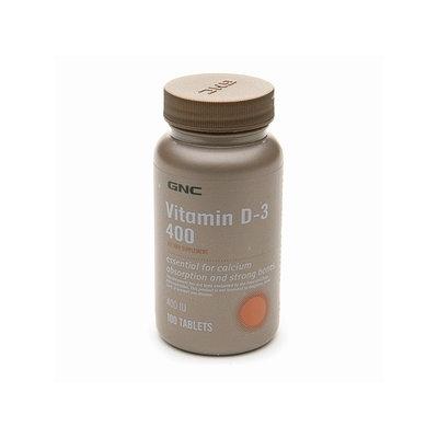 GNC Vitamin D-3 400