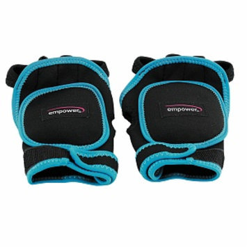 empower Weighted Fitness Gloves, blue/black, 1 ea