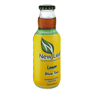 New Leaf Lemon Blue Tea