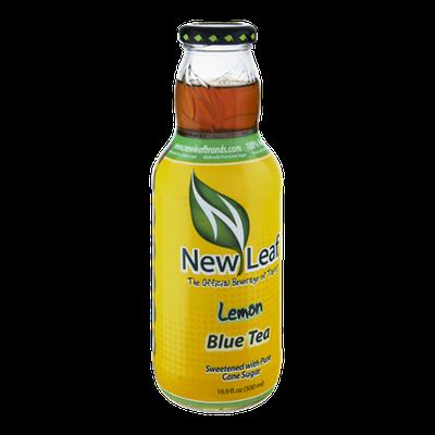 New Leaf Lemon Blue Tea