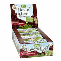 Gnu Foods Chocolate Brownie Flavor & Fiber Bars