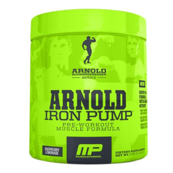 MusclePharm Arnold Schwarzenegger Series Iron Pump Raspberry Lemonade