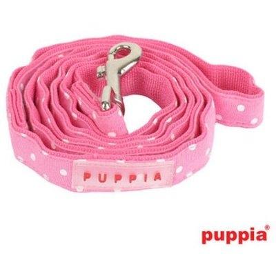 Digpets Puppia Dotty Dog Leash Medium Pink