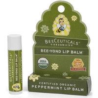 Beeceuticals Organics Bee-Yond Lip Balm Peppermint .15 oz