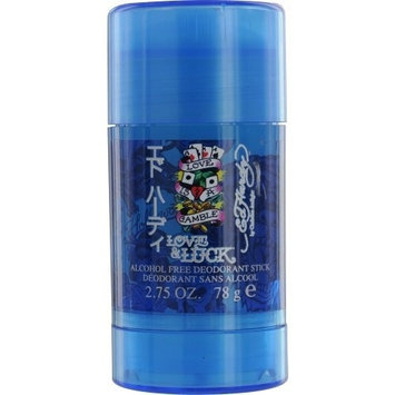 Ed Hardy Love & Luck by Christian Audigier for Men 2.75 oz Deodorant Stick Alcohol Free