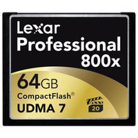 Lexar Media Lexar Professional 64GB CompactFlash (CF) Card