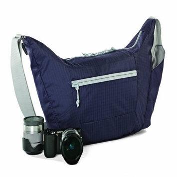 Lowepro - Photo Sport Shoulder 12l Camera Bag - Purple/gray